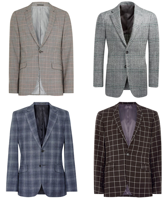 6B The Check Suit - Mohini Fashions Suits Hong Kong Tailor Bespoke