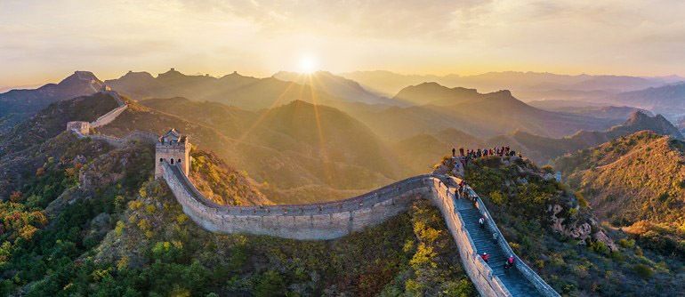 Great Wall of China. Photo source: www.airpano.com