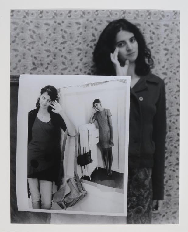 "Triple Portrait of Zoe, 2014, gelatin silver print, 23"" x 18"""