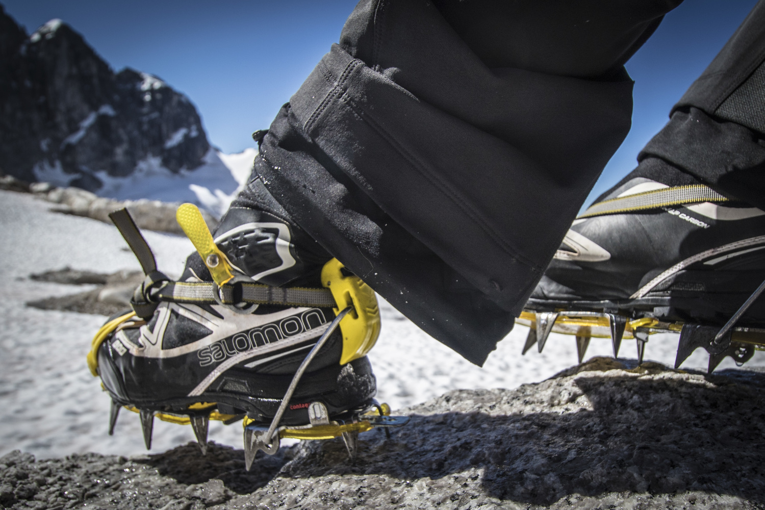 Ultralight and crampon compatible.  These are some seriously kickass boots.