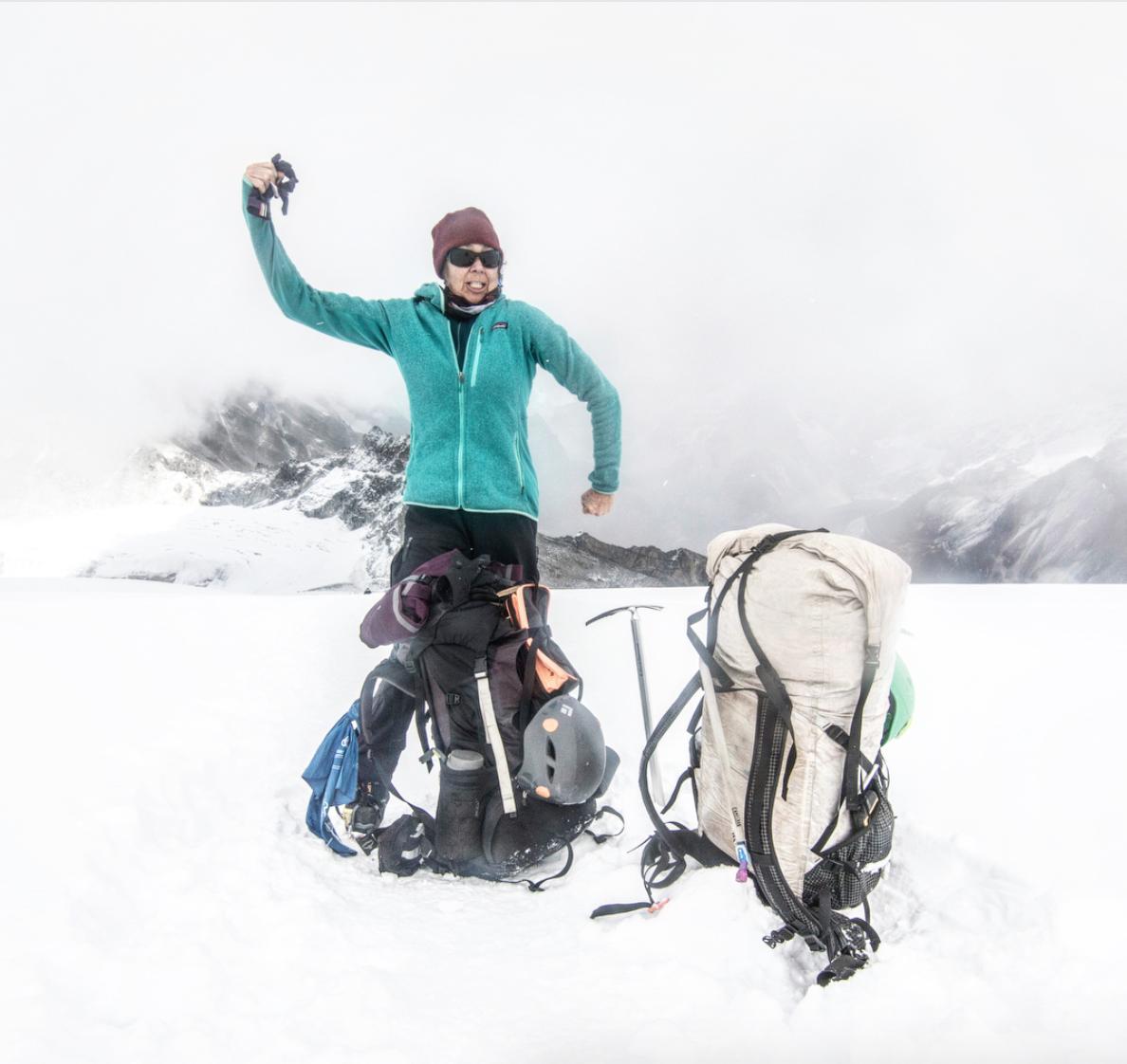 The woman, the myth, the legend - Kathy Parsons aka @mountainkat10