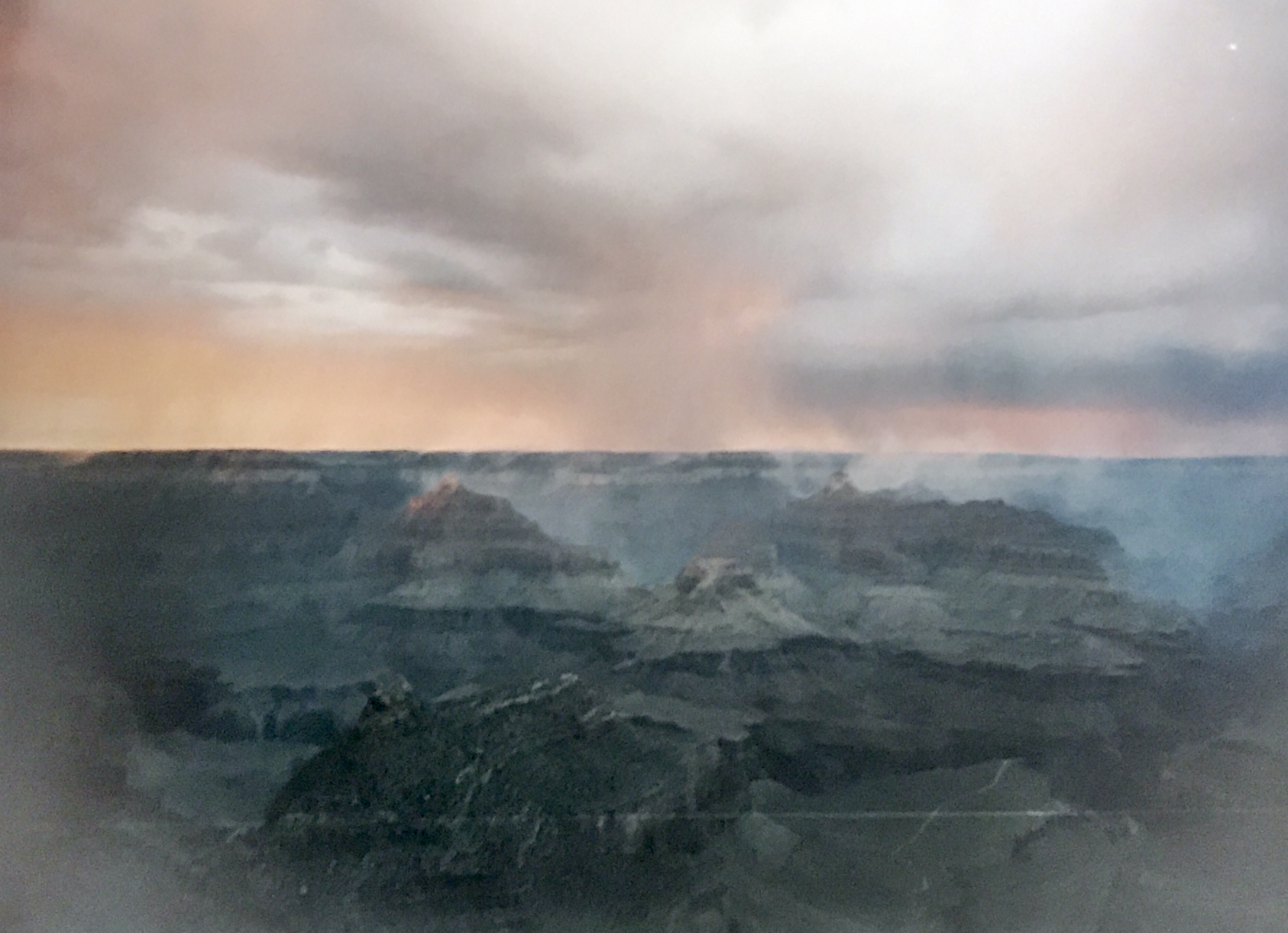 But how could you not fall in love with this landscape! A moody analog shot of the Grand Canyon from my dad's archives.