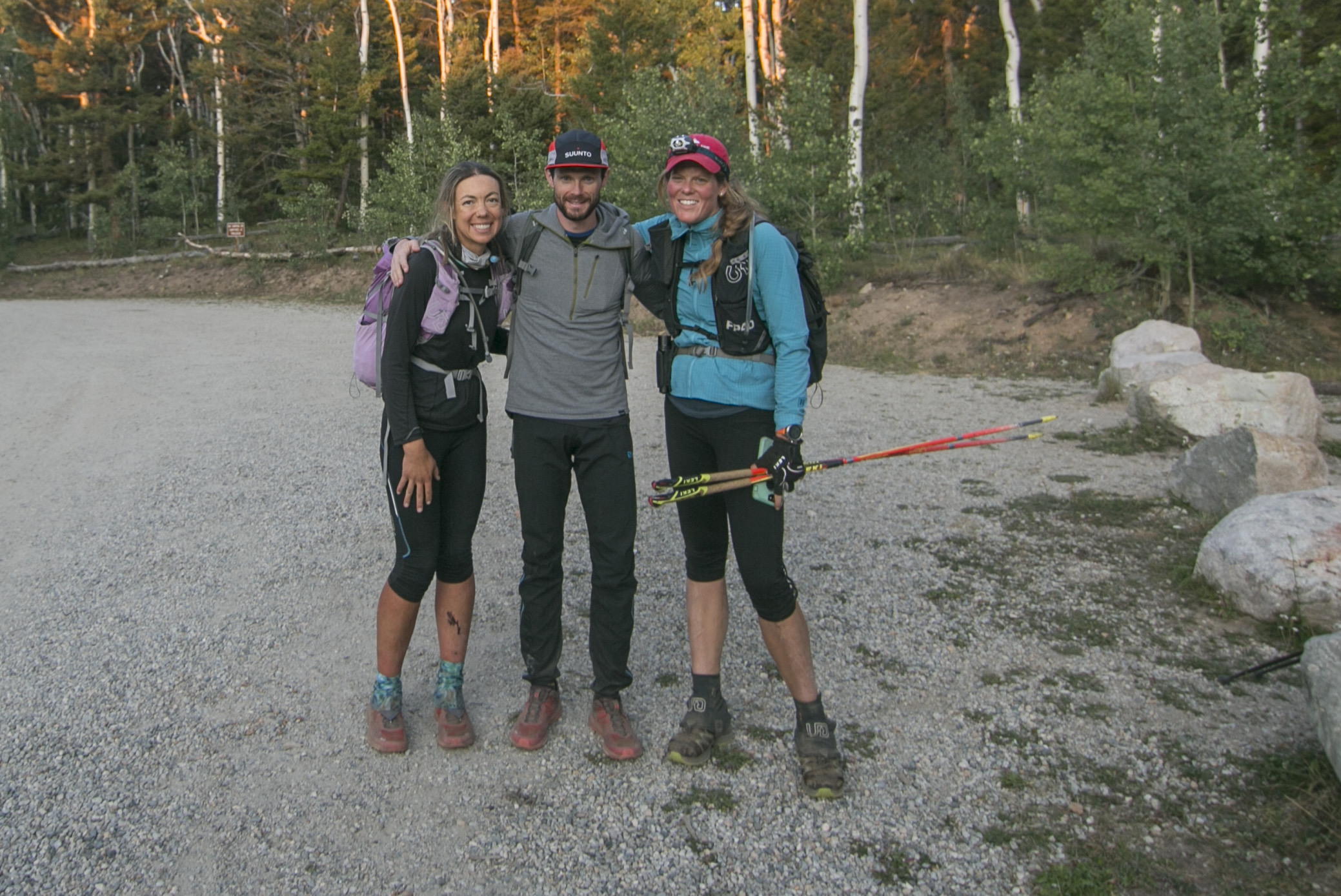 My amazing guides for the final three peaks! (PC Sunny Stroeer)