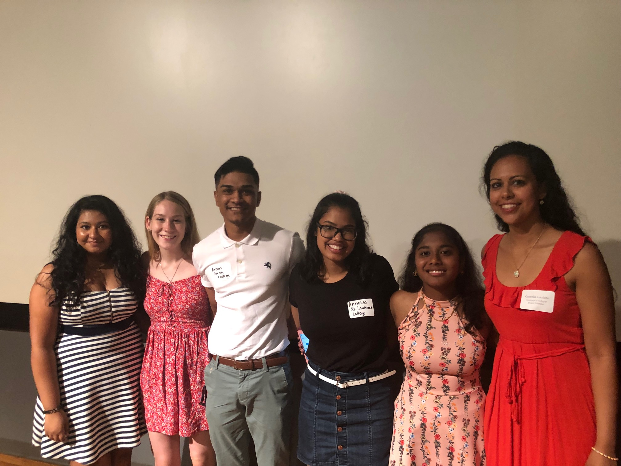 Vashnie participated in a College Scholar panel at our 2019 Summer Bridge Program