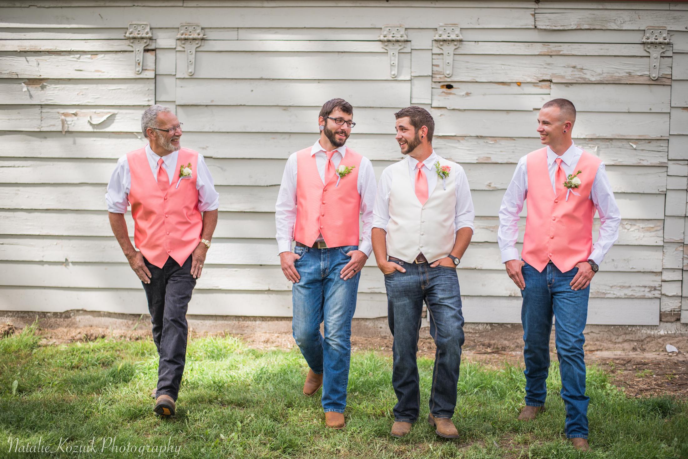 Natalie Koziuk Photography | Boise wedding photographer | bridal party | Star, ID | Bride Groom | nkoziukphotography.com