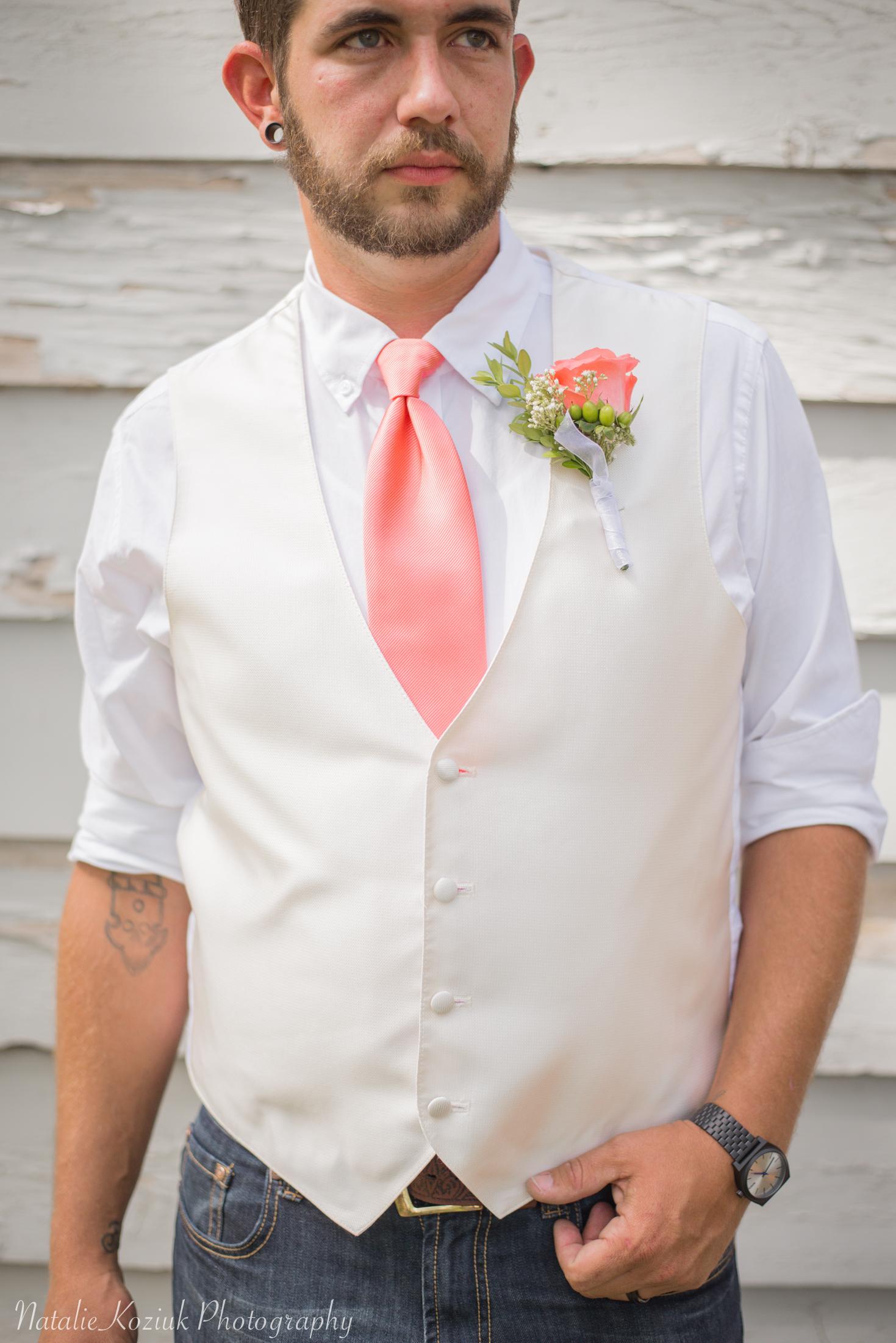 Natalie Koziuk Photography | Boise wedding photographer | groom | Star, ID | Bride Groom | nkoziukphotography.com