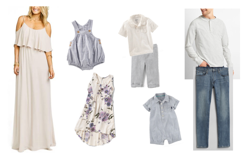 outfits for spring family photos