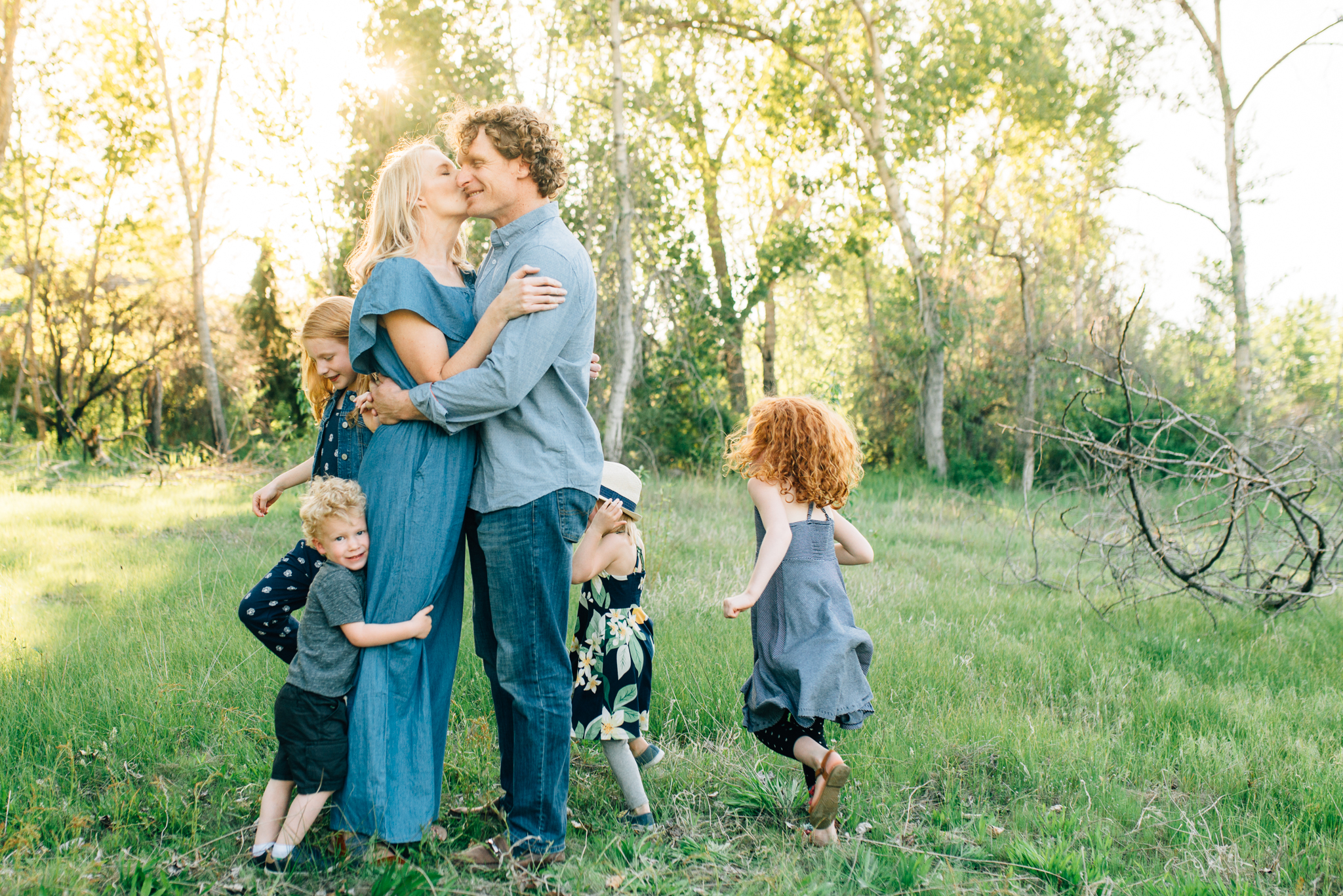 boise family lifestyle session| barber park | boise family photographer |
