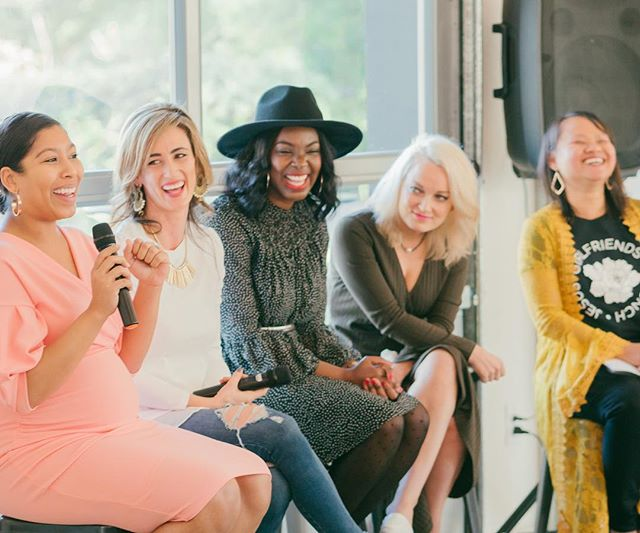 We have so much to celebrate in life, we all have a purpose and cheering each other on should always be a part of our journey.  Together we can do amazing things!! • A sneak peek from the She Inspires brunch Faith Panel.  These women are such an inspiration! • 📷: @youarelovedphotography  #girlfriends #brunch #jesus #sheinspiresbrunch #sheinspires #womanofgod #wordsofencouragement #inspiration #womenempowerment #encouragement #wordsofencouragement #together #diversity #faith #womanoffaith #inspire #womenhelpingwomen