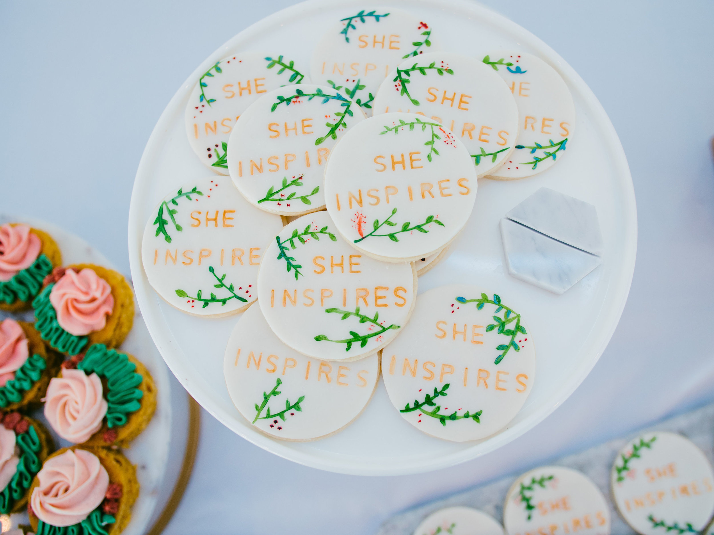 The sweets were a hit by  Feathers & Frosting
