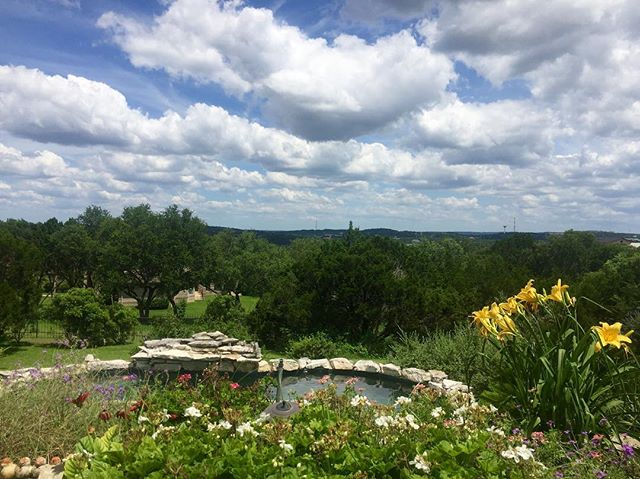 The Lord ordered up a PERFECT Sunday. And yes, the Texas Hill Country really is that beautiful. #nofilter #adoreaustin #texaslife