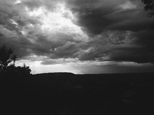 Truly epic sky this evening. #vscocam