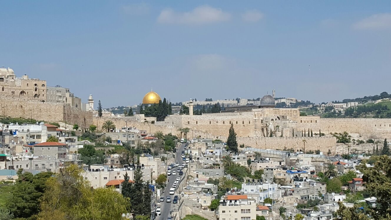 Jerusalem. Photo taken by Kristian on his pilgrimage in 2016.