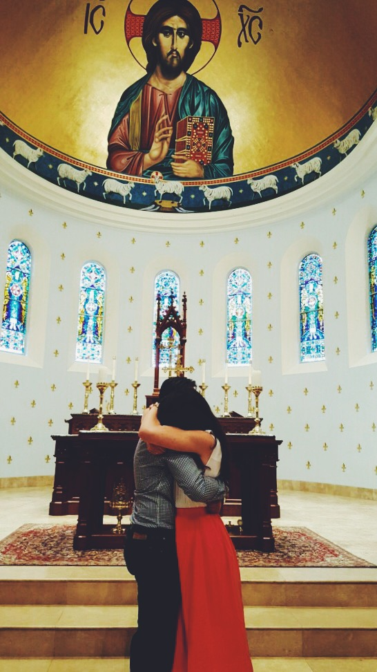 This pretty much sums it up. Also, how gorgeous is this chapel?