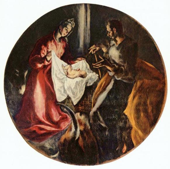 El Greco's  Nativity