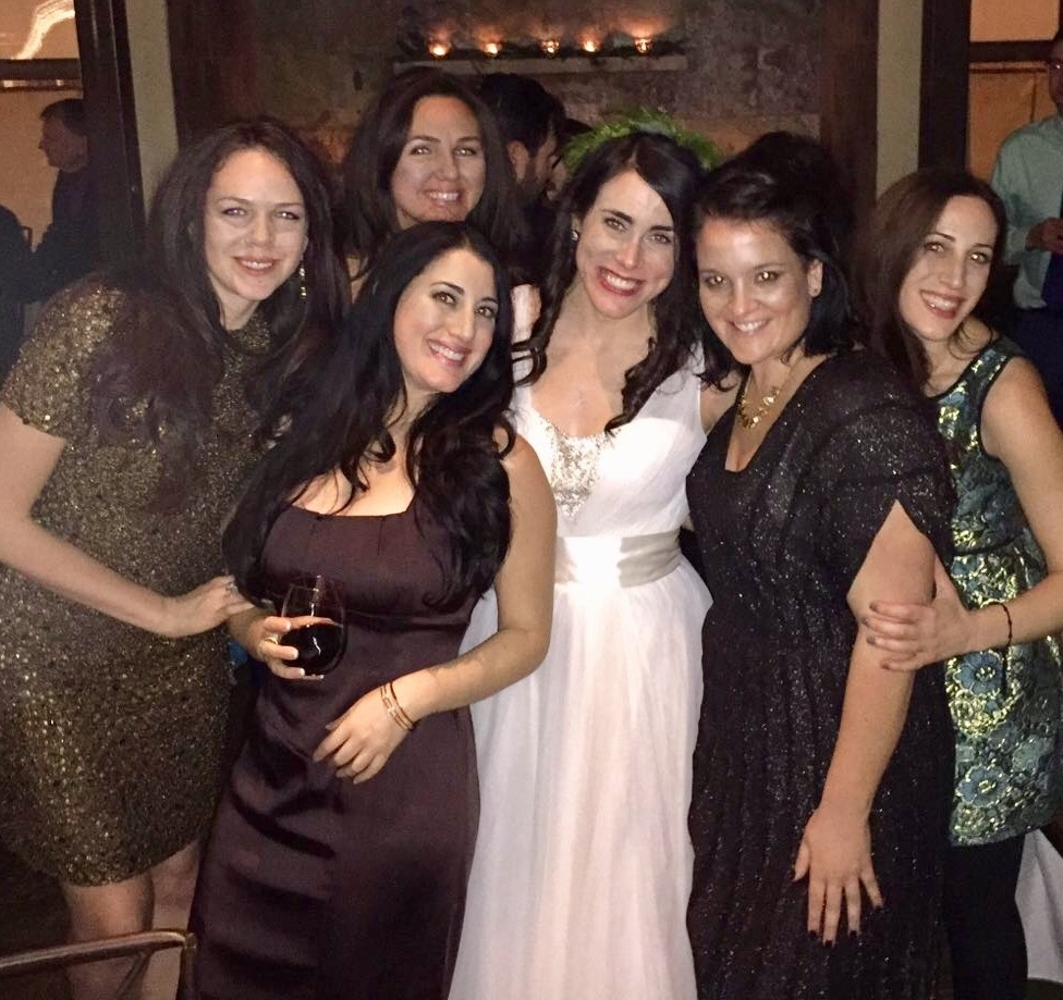 The dear friends without whom I couldn't have lived my single years joyfully. Love you ladies!