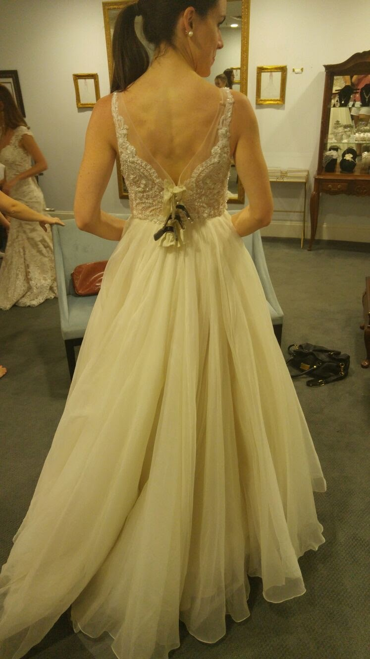 The front of this one wasn't anything to write home about, but how gorgeous is this back?!