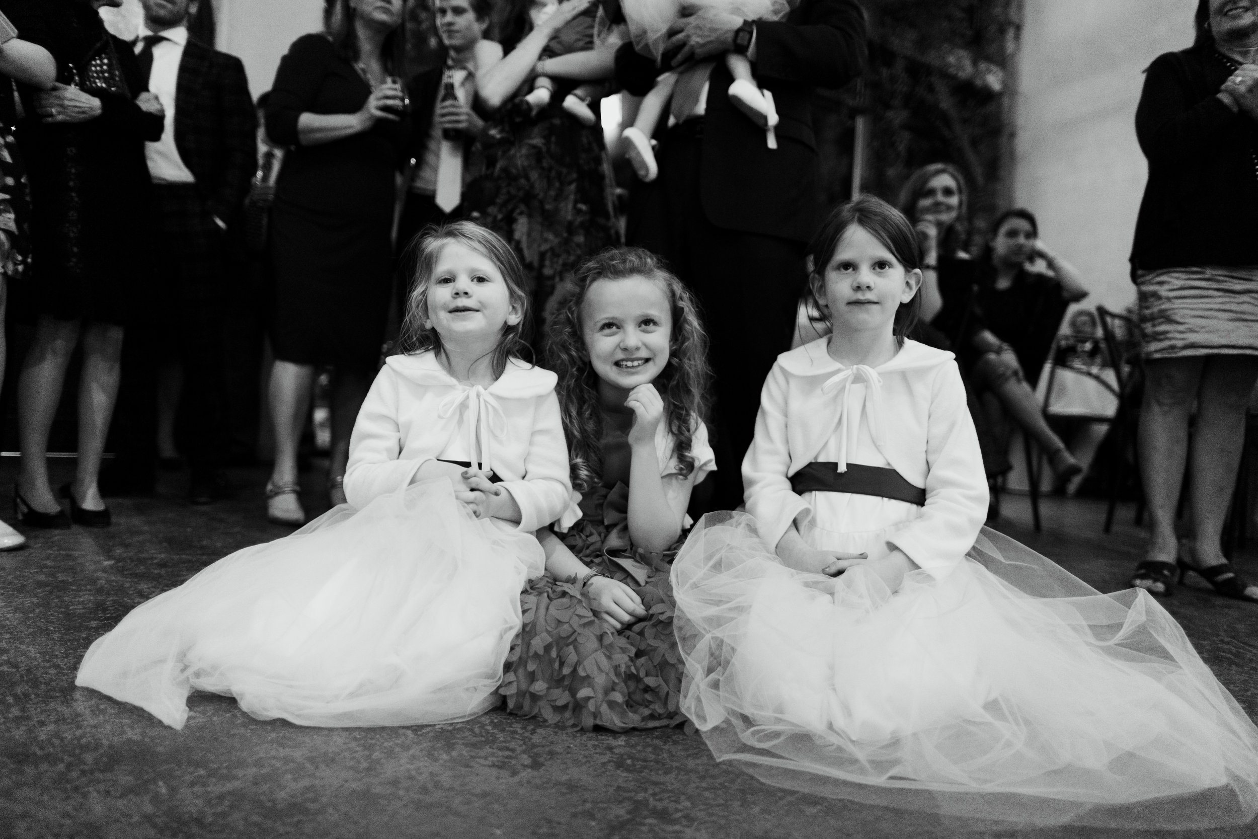 My nieces and my cousin being cute.