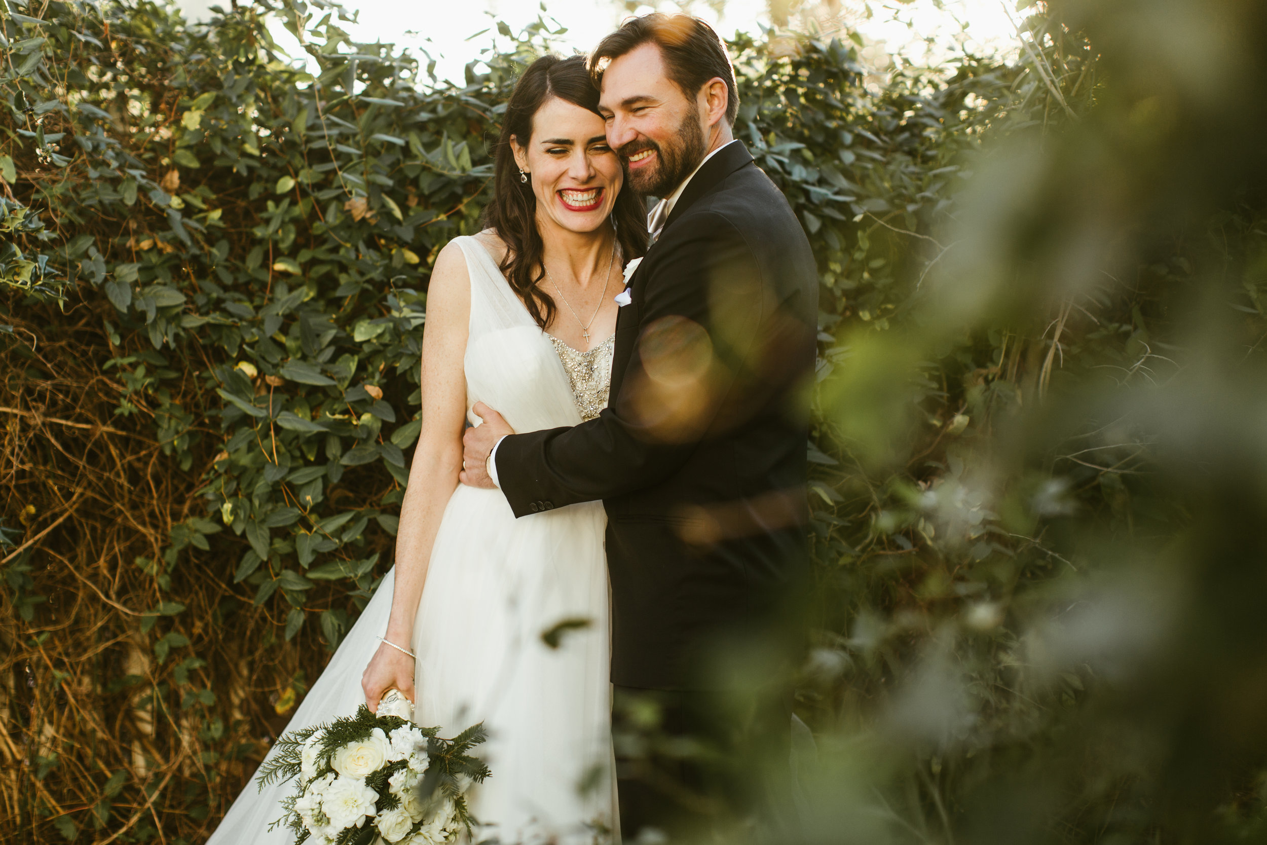 I want all of you to be this happy on your wedding day. Photo by Leah Muse.