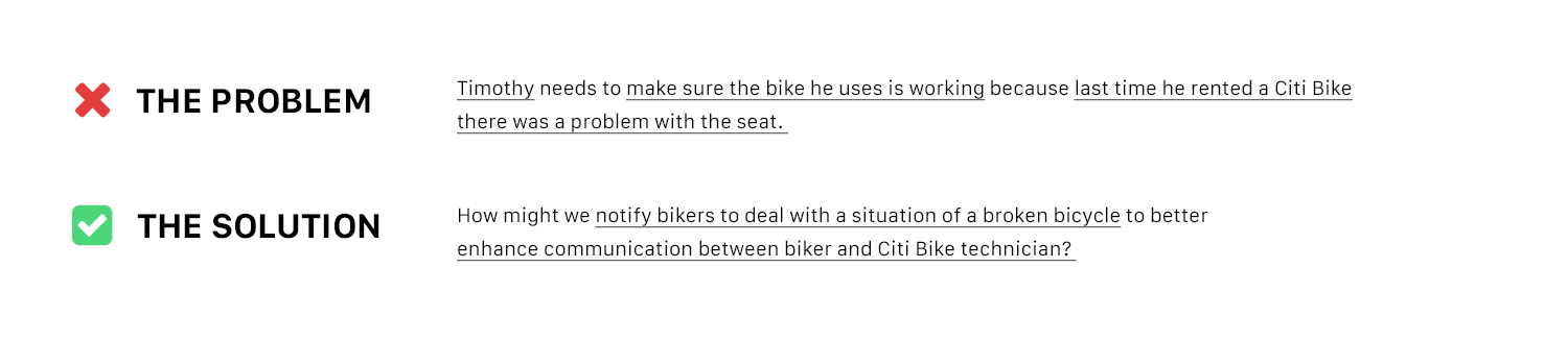 User recognizes problems with Citi Bikes in past trips. Now he double checks the bike before every ride. It should not be that way.