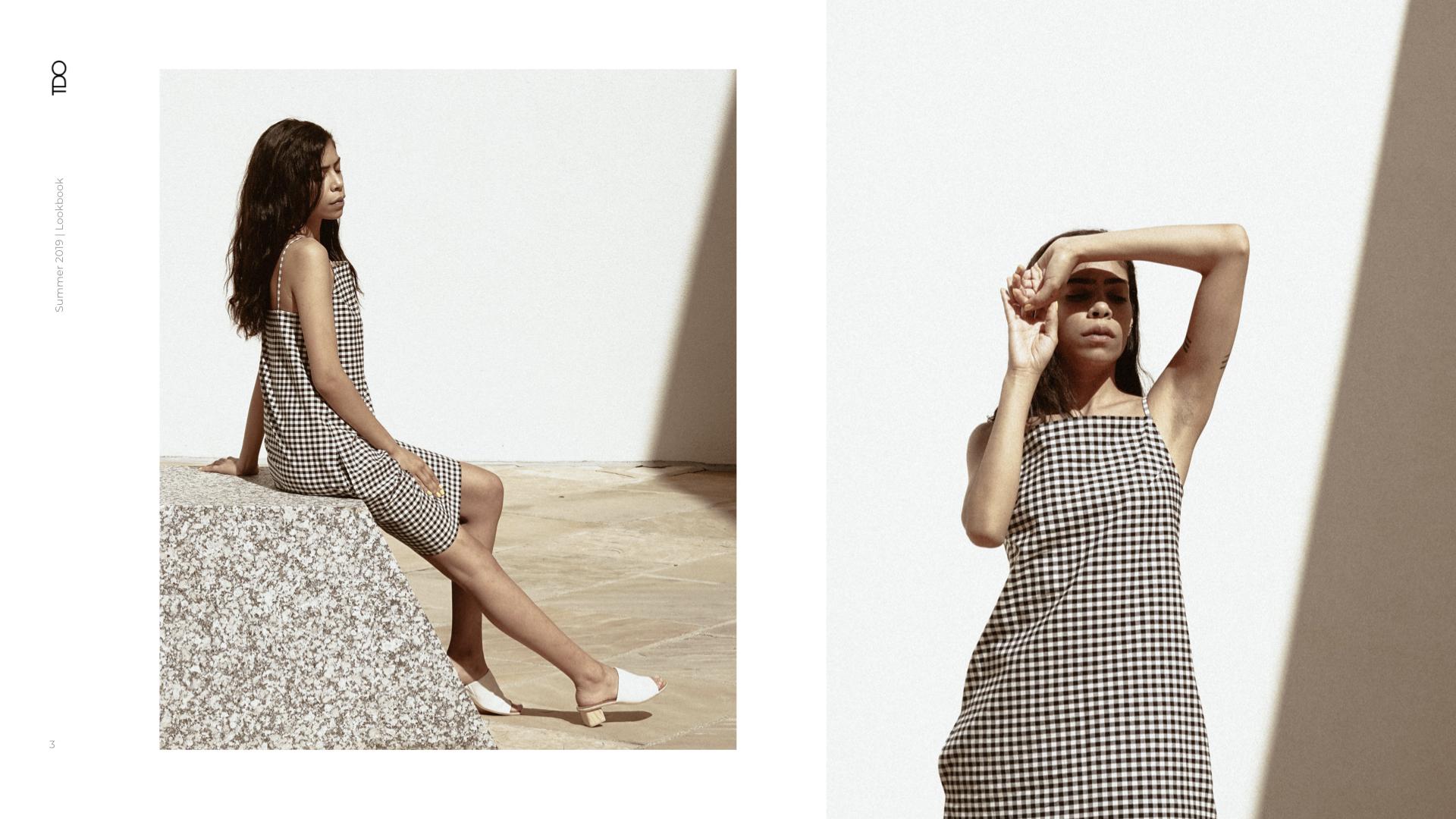 Two Days Off, Indya Dress  Summer 2019 Lookbook. Model,  Olivia Kyoko . Photographed by,  Olivia Lopez