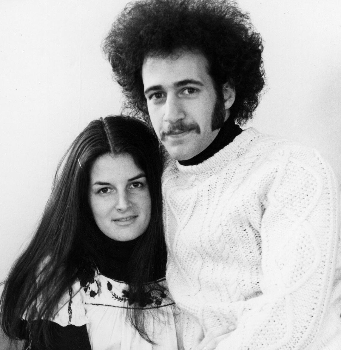 Liza and Rob, circa 1973