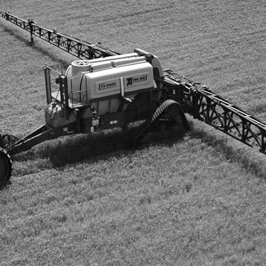 Pull Type Row Crop Boom Sprayer