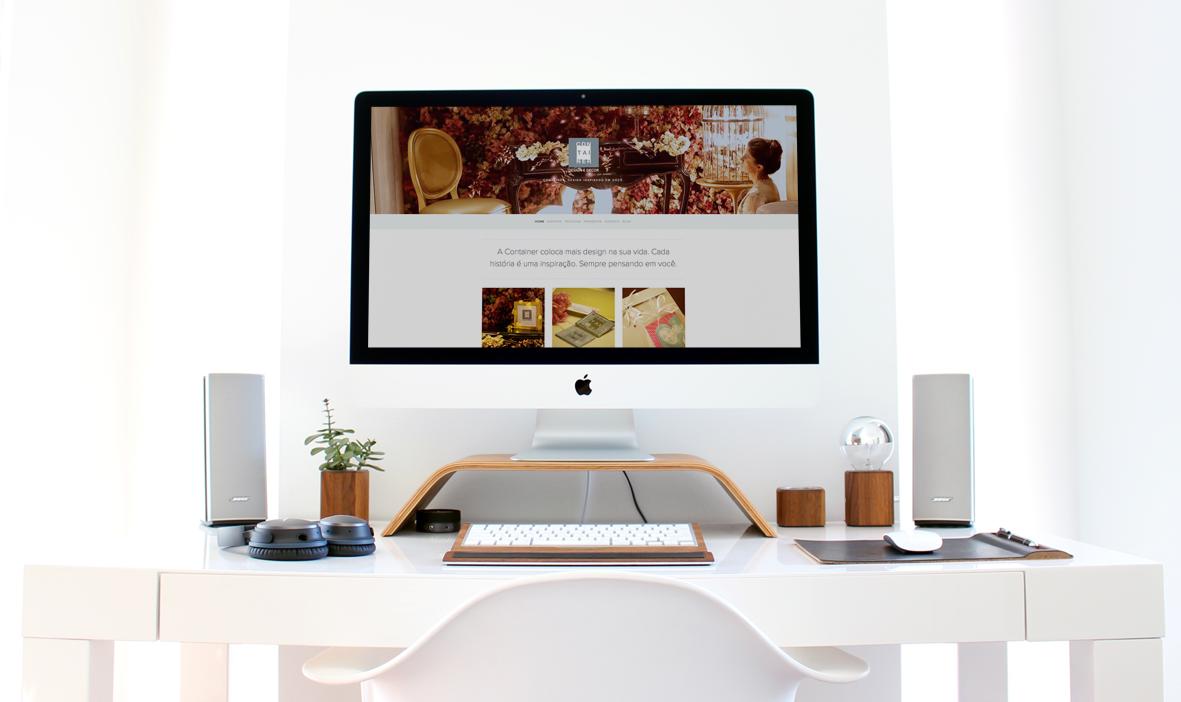 site container design