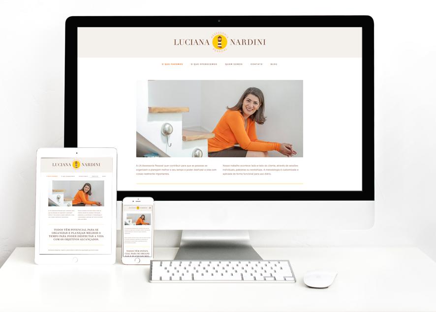 website responsivo para desktops, ipads e smartphones