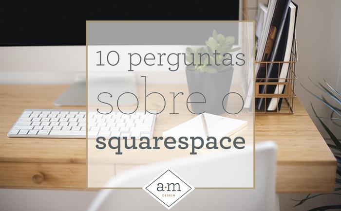 perguntas sobre Squarespace
