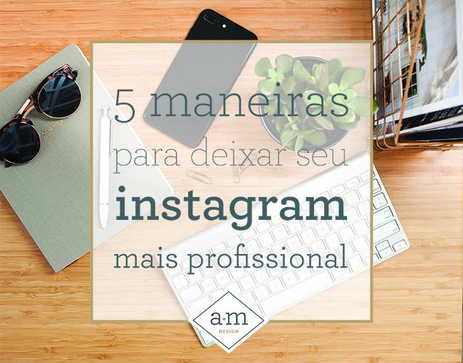 instagram mais profissional
