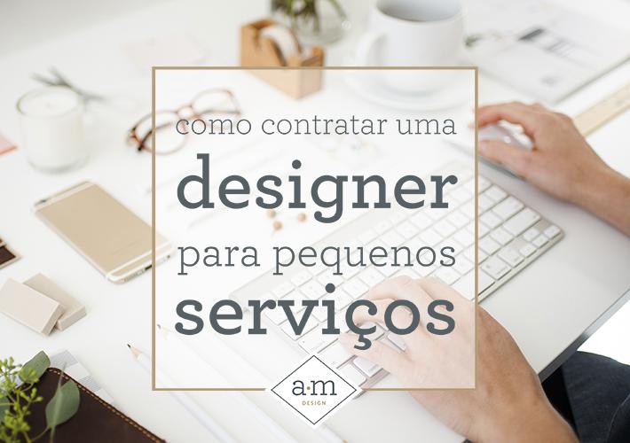 como contratar uma designer