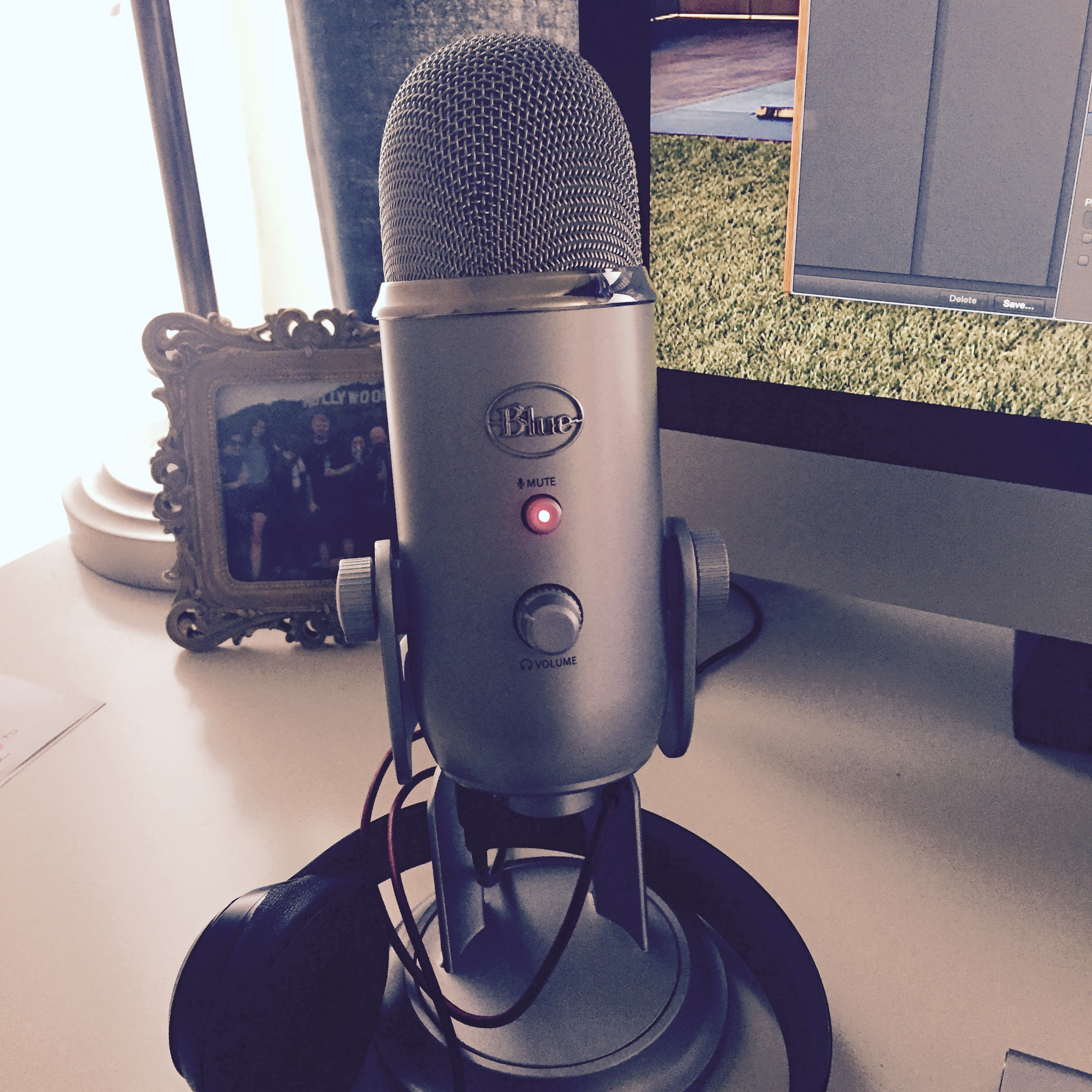 My bad ass new microphone!