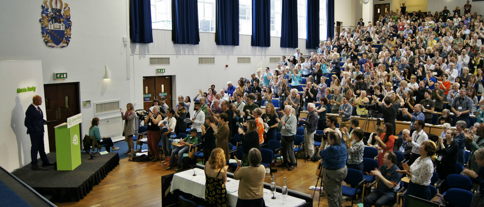 Green Party conference empowered by The Politics of Imagination. Photo: Vicky Duckworth (click to enlarge)