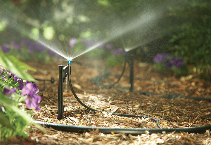 Proper irrigation - is of the key pillars of landscape and garden success. Effective irrigation strategies save time, money and resources.