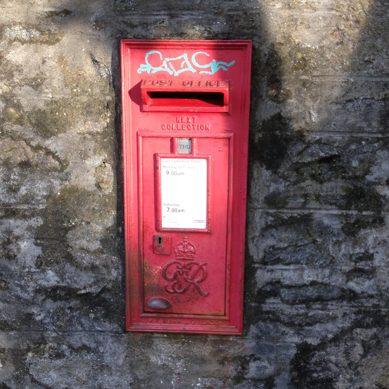 George VI wall box