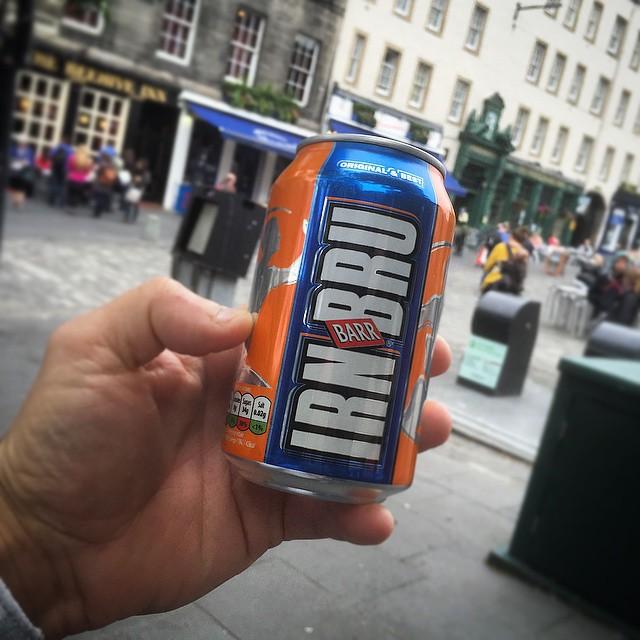 Can of Irn Bru  Photo credit: Loren Kerns  https://www.flickr.com/photos/lorenkerns/18928526230