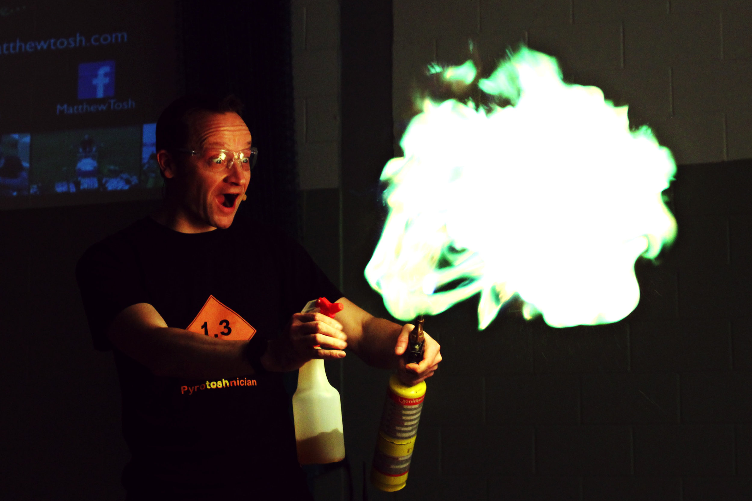 Fireworks: Real Science or Just Bangs?  Photo credit: Techfest