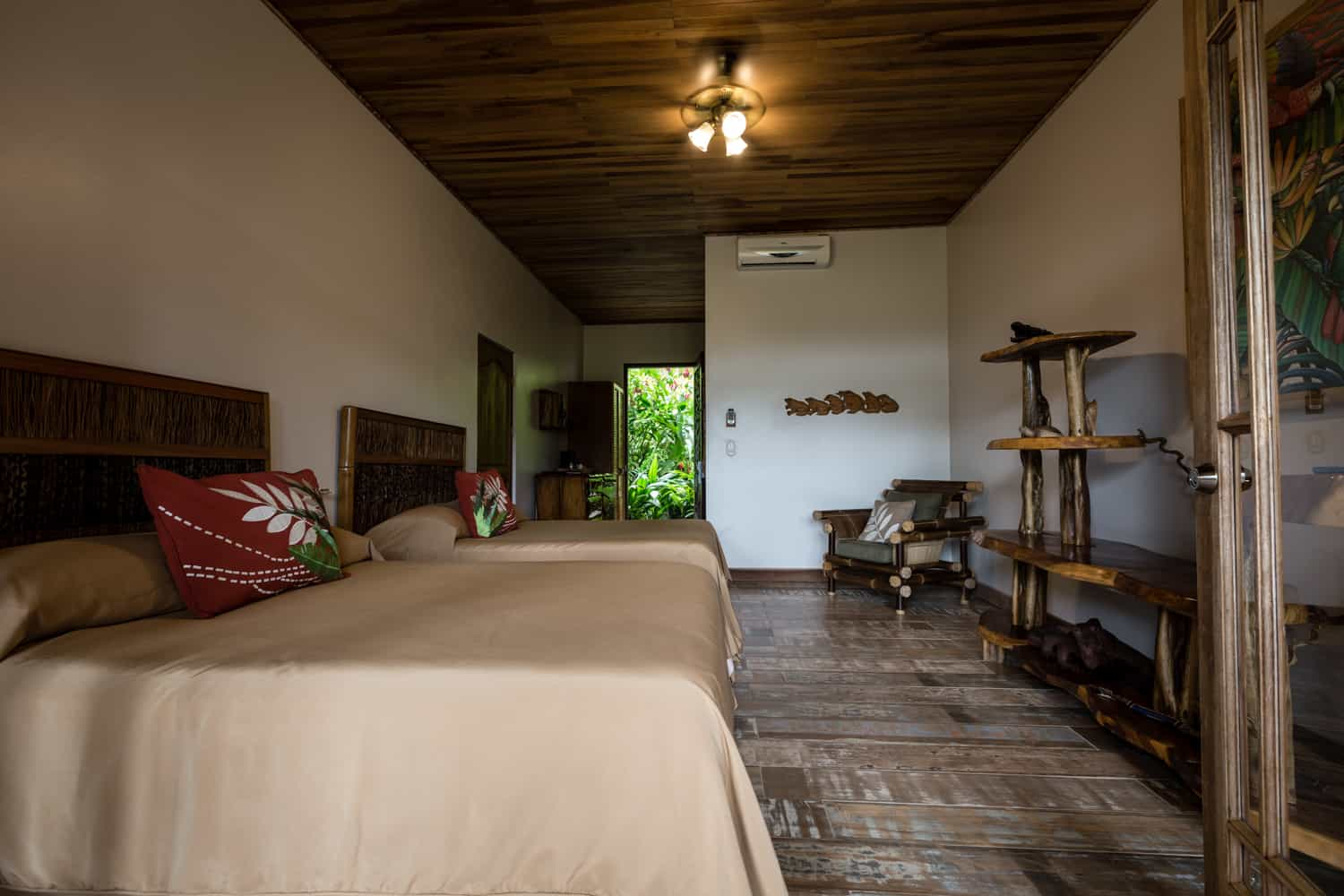 Standard accommodations at Lost Iguana Resort for wedding guests.