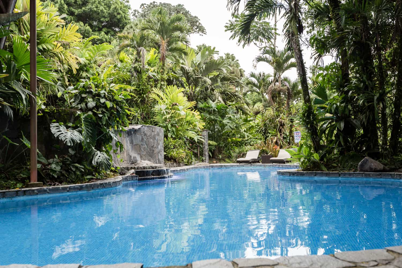 lost Iguana Resort's pool for small wedding ceremonies.