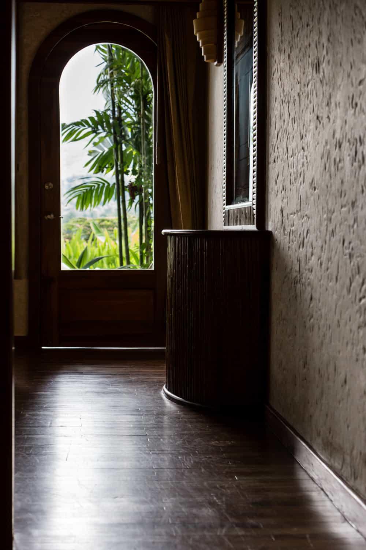 Entryway to Springs Resort & Spa Honeymoon suite.