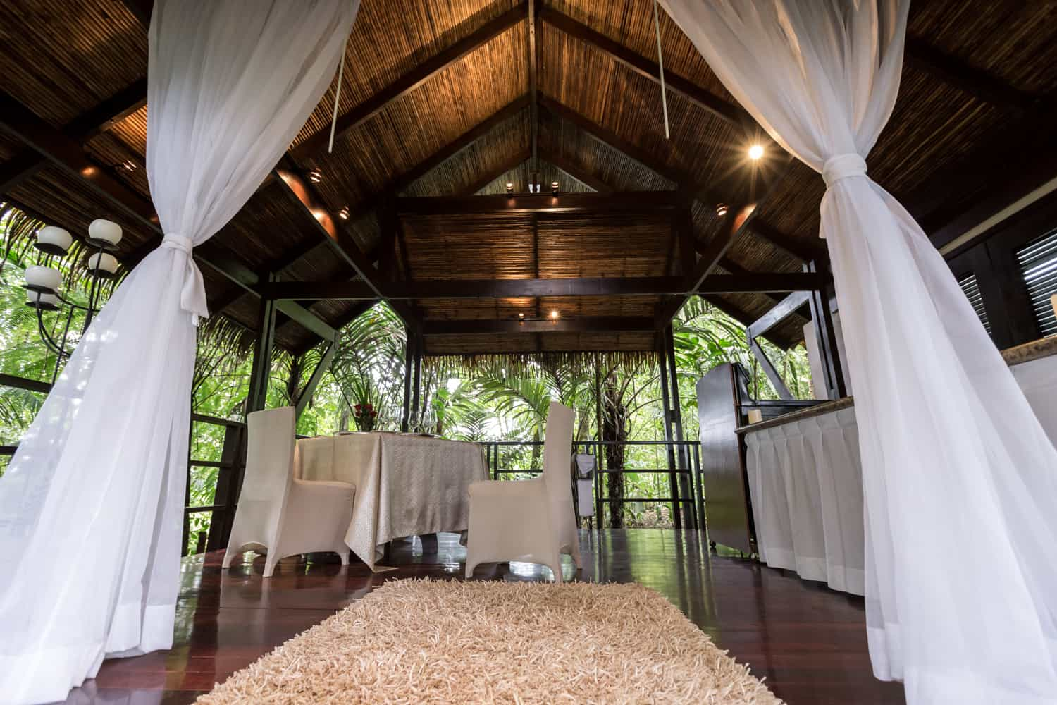 Unique location for elopement or small ceremony at Tabacon.