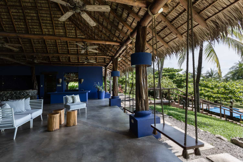 Hotel Punta Islita's beach restaurant for wedding celebrations-