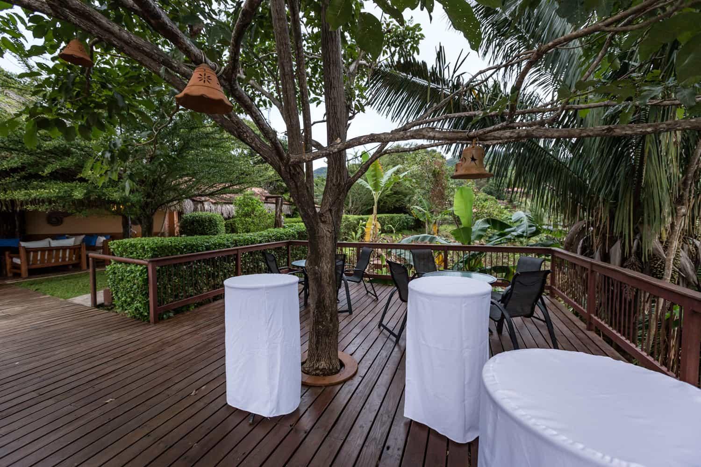 Intimate site for elopement at Hotel Punta Islita.