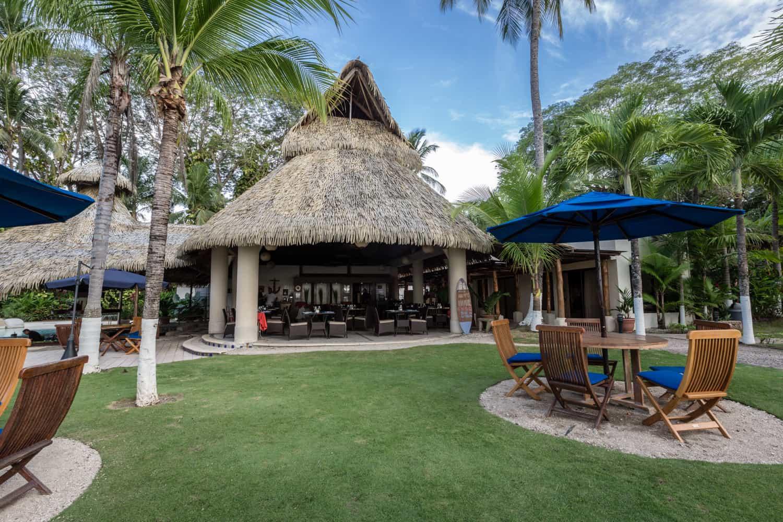 Front view of Bahia del Sol' gourmet restaurant.