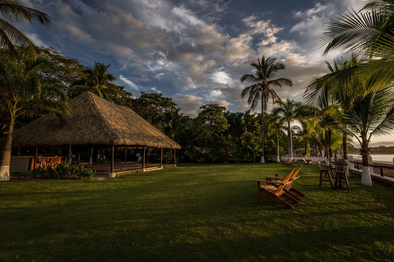Beach wedding ceremony venue in Guanacaste at sunset