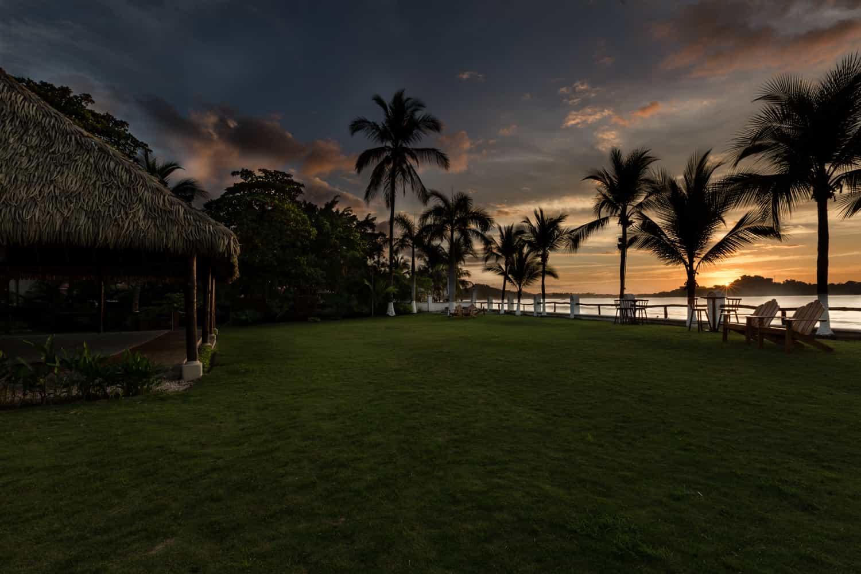 Beautiful sunset at Bahia del Sol Hotel in Guanacaste.