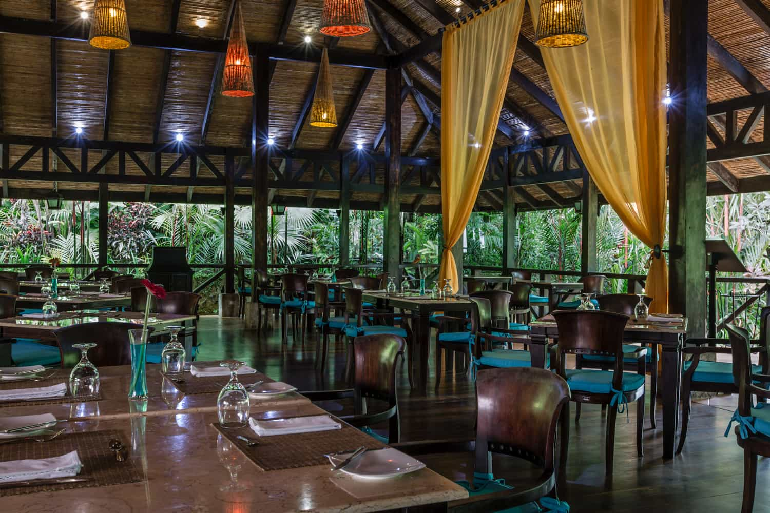 Amazing location at Rio Celeste Hideaway Hotel for wedding event.