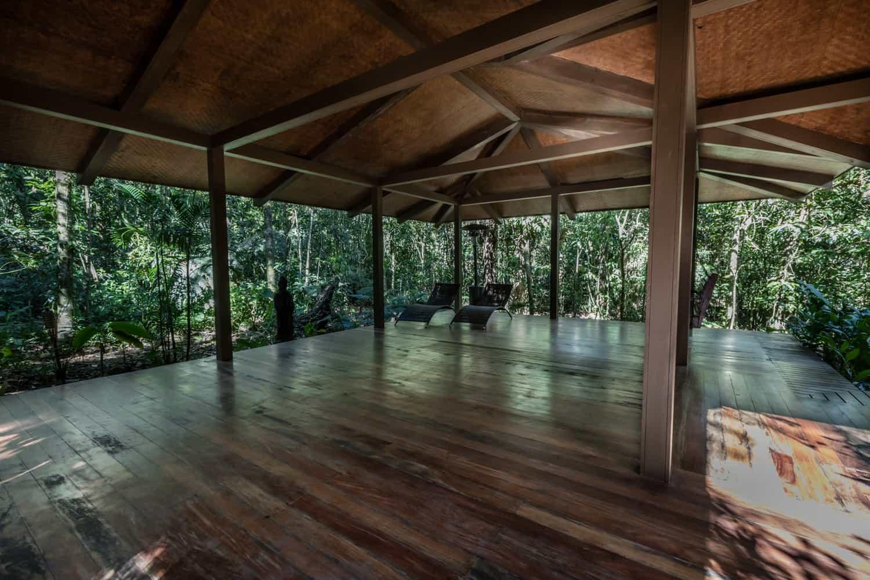 Great site for wedding at El Silencio Lodge in Costa Rica.