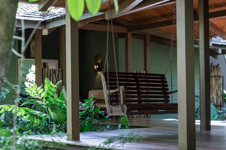 Photo of El Silencio Lodge's pavilion for weddings and receptions.
